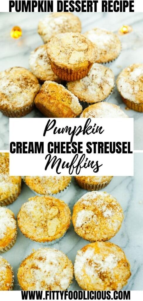Pumpkin, Streusel, Cream Cheese, Muffins, Pumpkin Muffins, Baking, Thanksgiving,Holiday, Halloween, Dessert Pumpkin Dessert