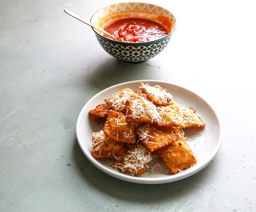 Ravioli, Fried Ravioli, Pasta, Fresh Pasta, Pasta, At home, Italian