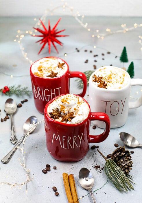 Apple Spiced Lattes, Lattes, Coffee, Mr. Coffee, Drink, Holiday Apple Juice