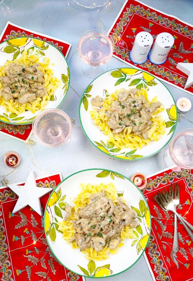 Beef Stroganoff, Better Than Bouillon, Christmas, Pasta, Holidays,