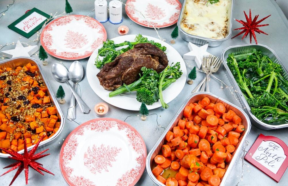 Prime Rib, Christmas, Christmas Dinner, Holiday, Raley's, Prime Rib Dinner