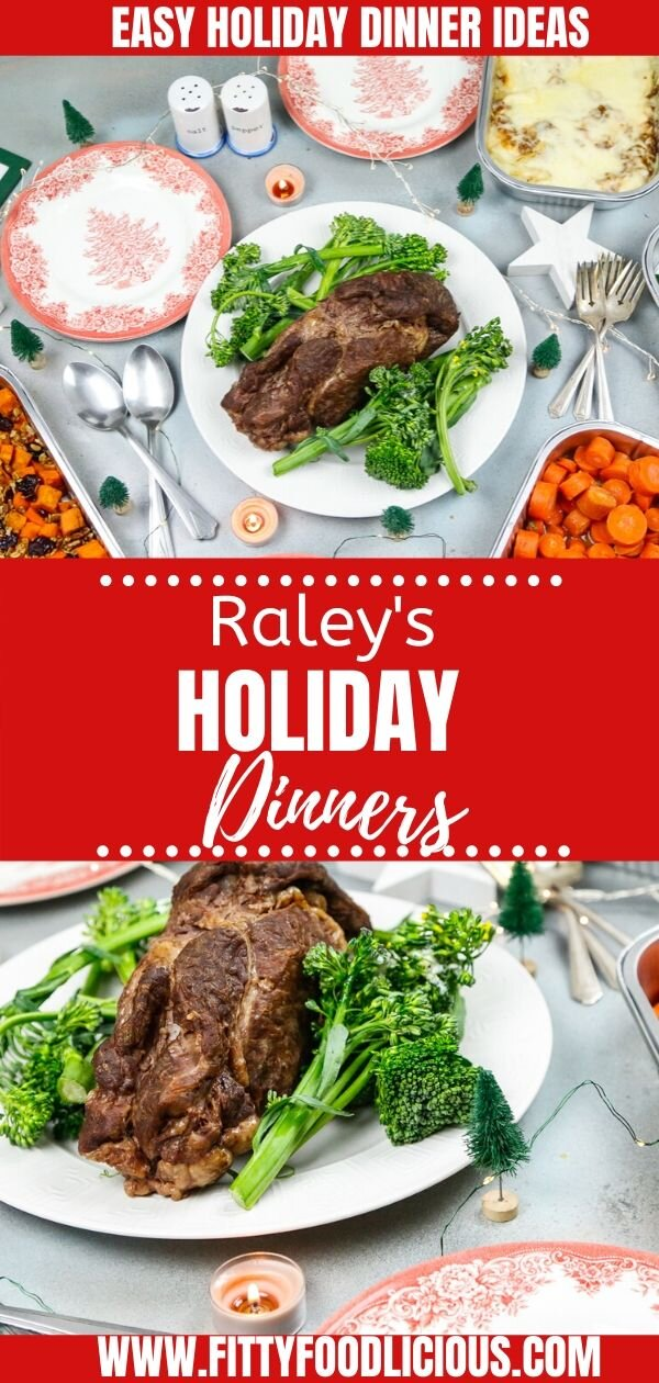 CELEBRATE THE HOLIDAY WITH RALEY'S HOLIDAY DINNER