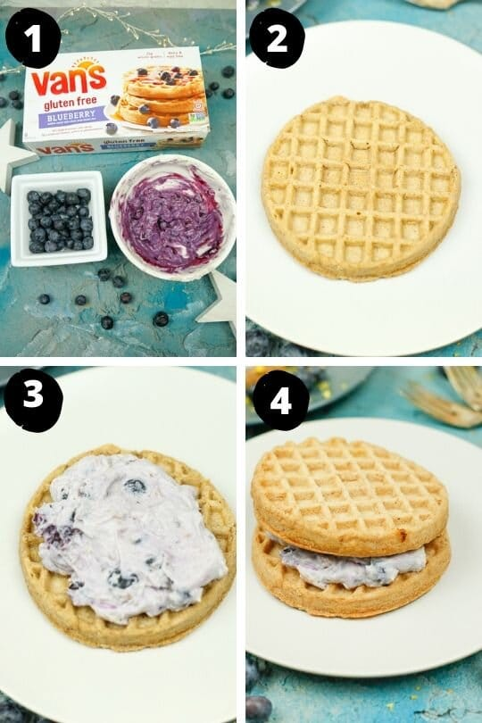 Van's, Breakfast, Waffles, Blueberry, Breakfast, Casserole