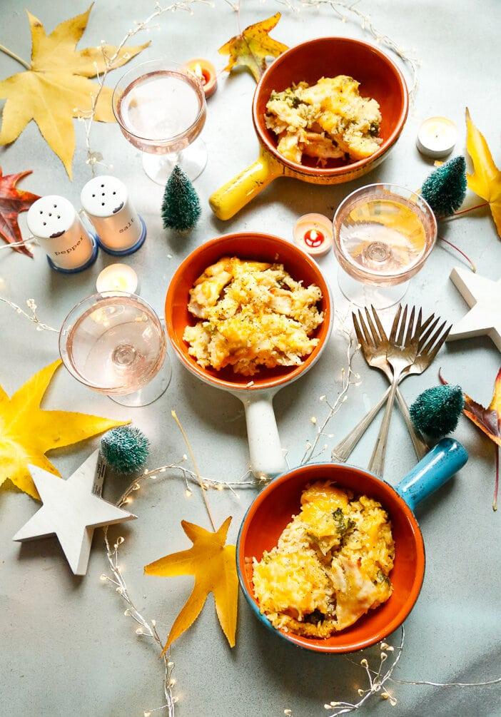 Chicken and rice casserole, thanksgiving, chicken, rice