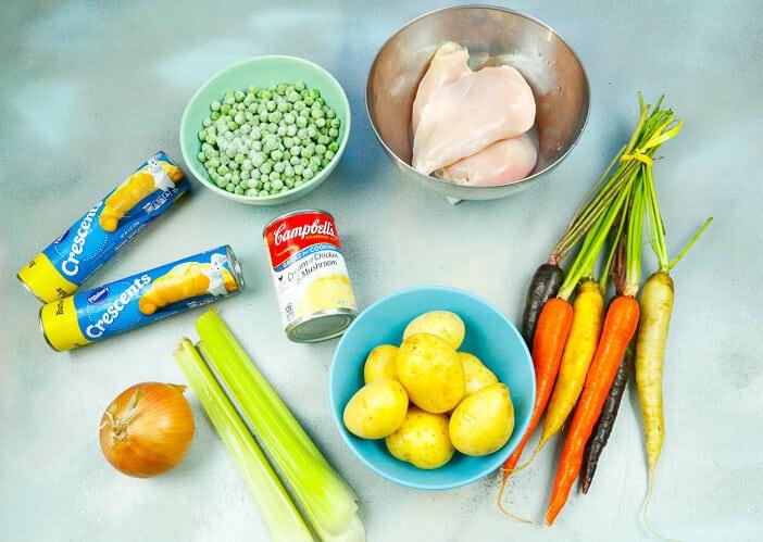 ken, Dutch oven, healthy, chicken potpie, potpie, October, comfort food, fall