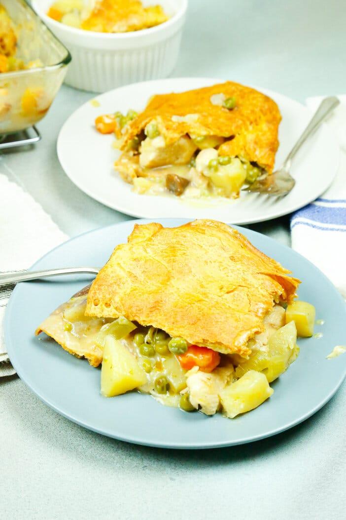 Easy, chicken, chicken potpie, potpie, October, comfort food, fall