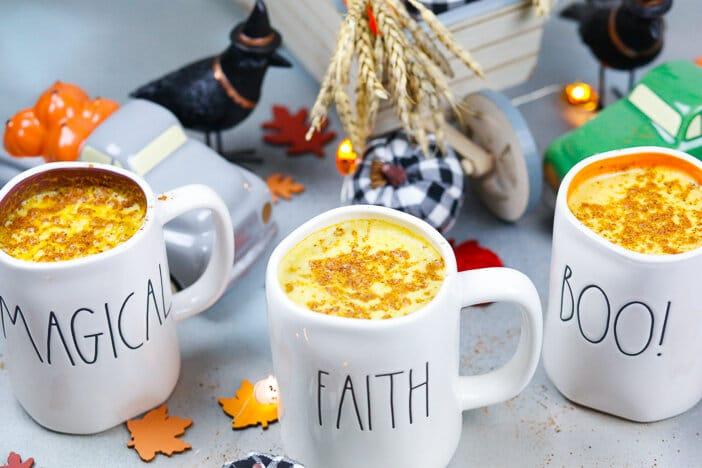 Coffee, Pumpkin Spiced Coffee, Pumpkin, Coffee Recipe, Fall, Morning, Halloween