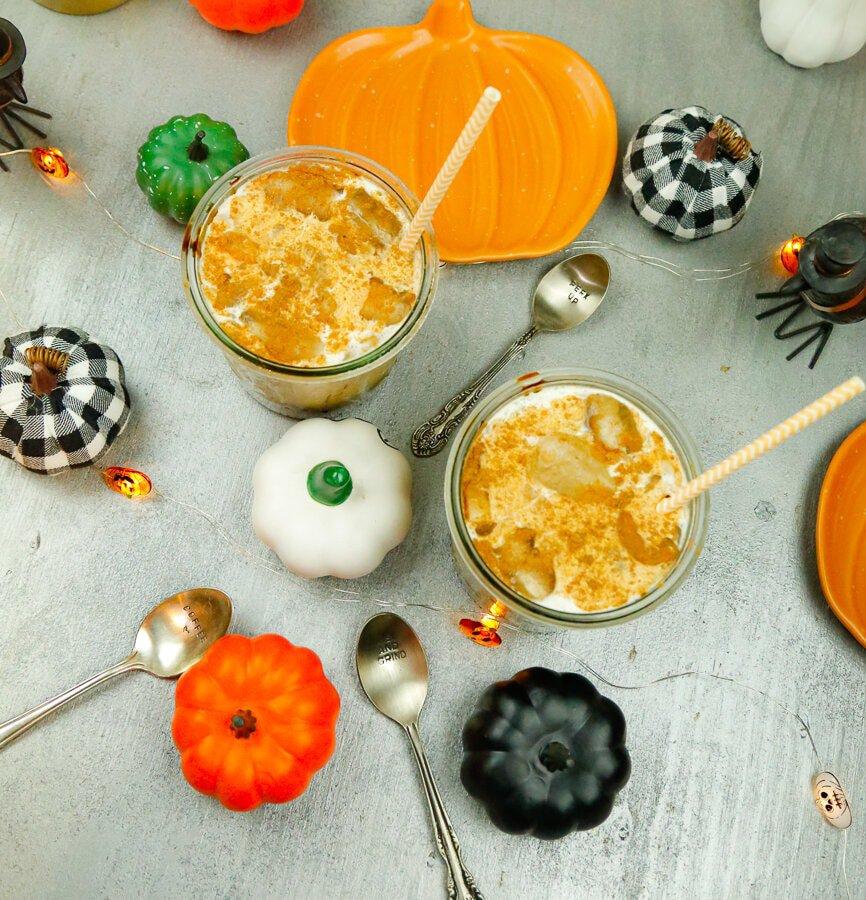 Pumpkin pie cold brew, pumpkin pie, cold brew, coffee, iced coffee, bulletproof coffee, fall, autumn, pumpkin pie syrup, pumpkin