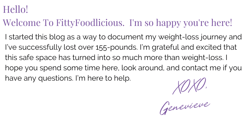 Welcome from FittyFoodlicious' Genevieve Jerome