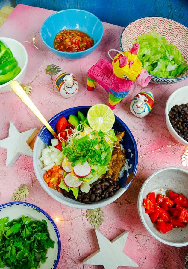 Healthy Burrito bowls