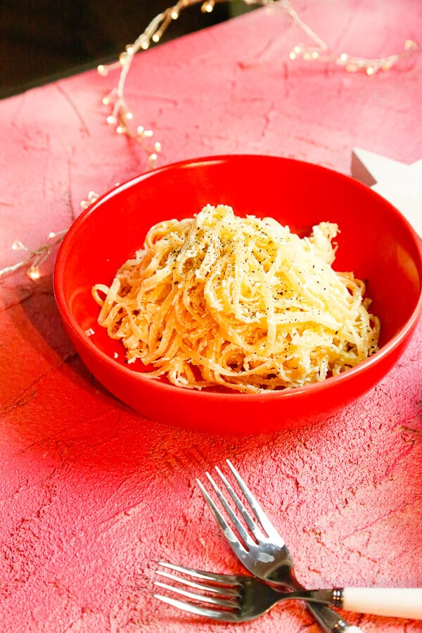 Mizithra Browned Butter Pasta