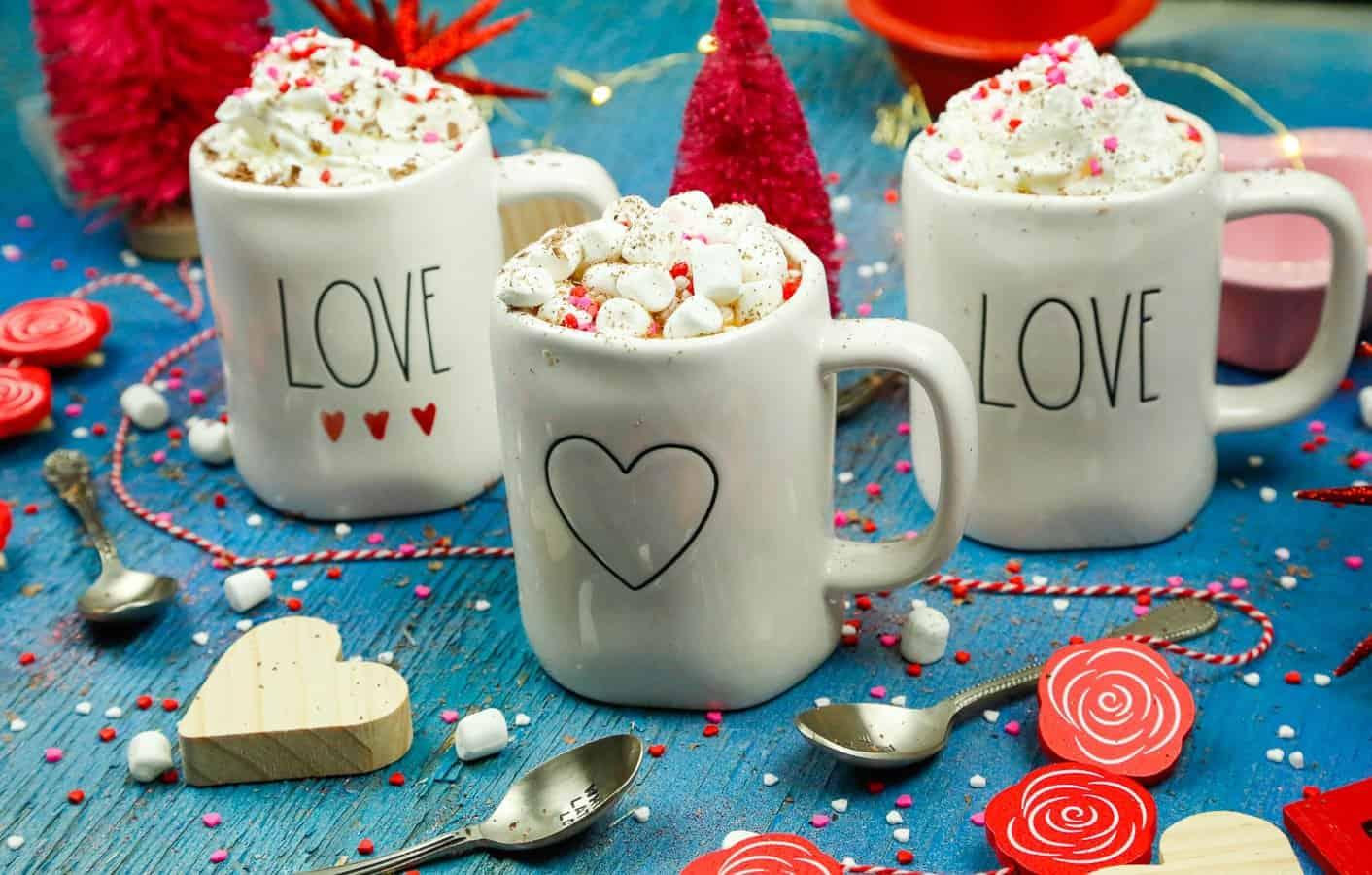 Vanilla Sweet Cream Hot Chocolate