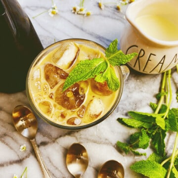 Mint Iced Coffee Cold Brew