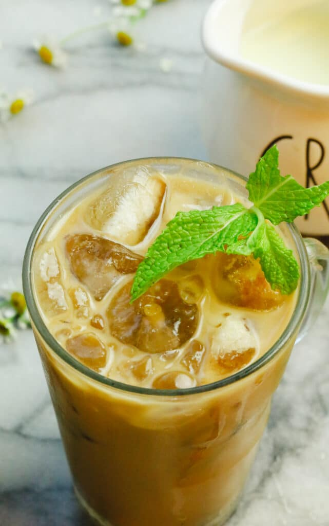 Mint Iced Coffee (Cold-Brew)
