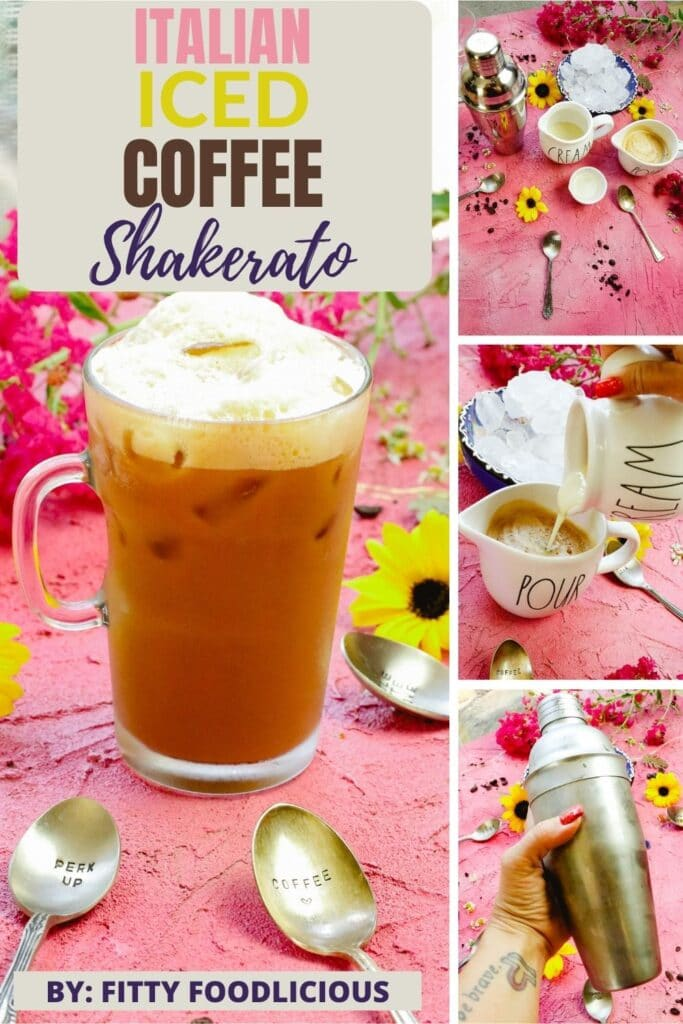 Italian Iced coffee shakerato recipe